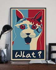 Cat Says What 11x17 Poster lifestyle-poster-2