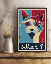 Cat Says What 11x17 Poster lifestyle-poster-3