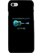 Whisper Words Of Wisdom Let It Be  Phone Case thumbnail
