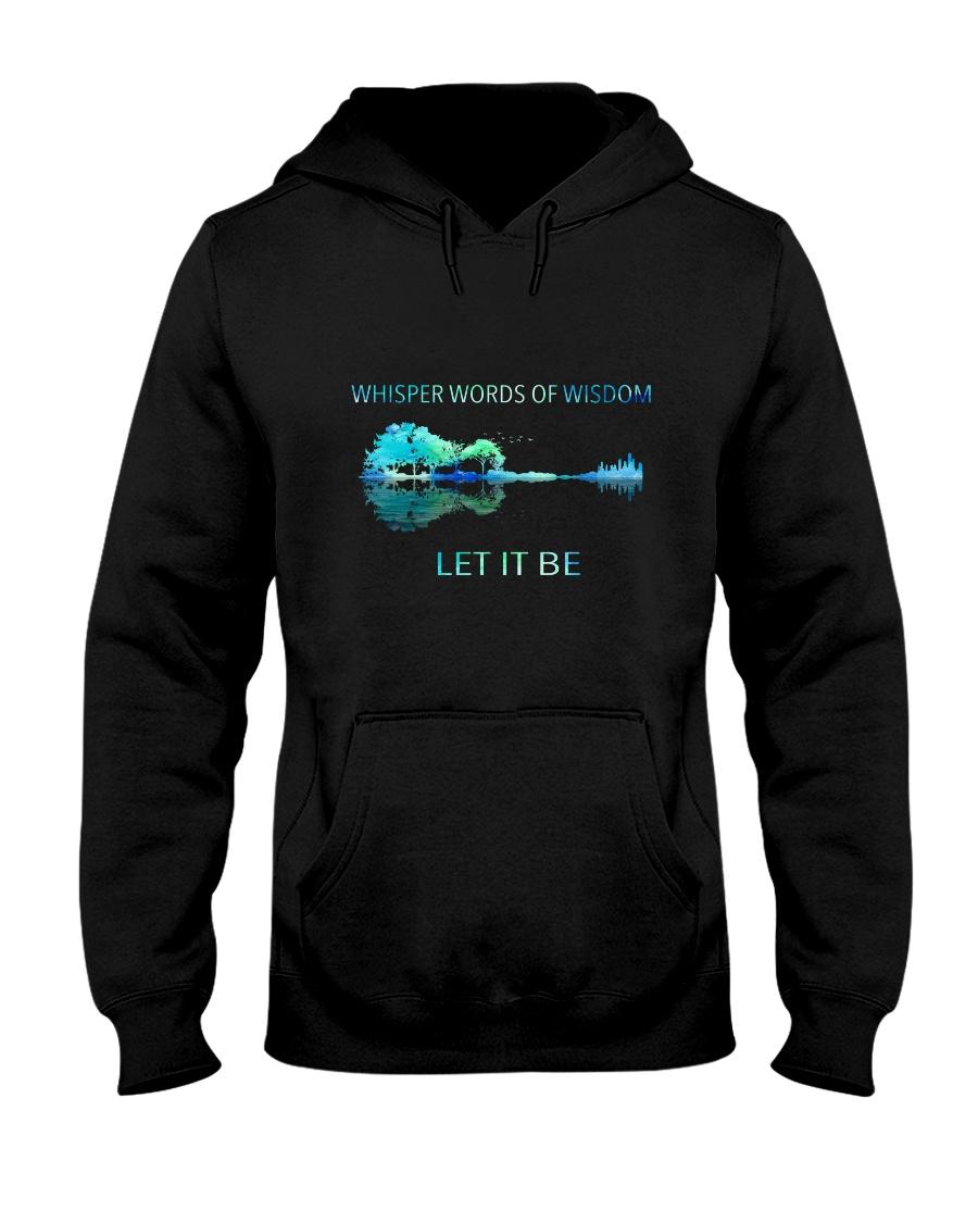Whisper Words Of Wisdom Let It Be  Hooded Sweatshirt
