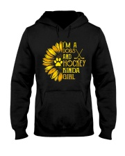 I Am A Dogs And Hockey Hooded Sweatshirt thumbnail