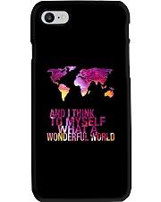 Myself What A Wonderful World 5 Phone Case thumbnail