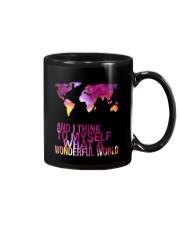 Myself What A Wonderful World 5 Mug thumbnail