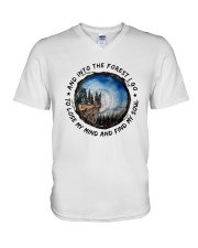 Into The Forest 1 V-Neck T-Shirt thumbnail