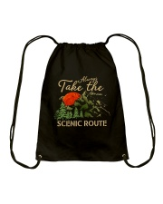 Always Take The Scenic Route Drawstring Bag tile