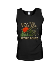 Always Take The Scenic Route Unisex Tank tile