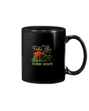 Always Take The Scenic Route Mug tile