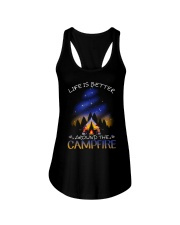 Life Is Better Ladies Flowy Tank thumbnail