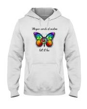 Whisper Words Of Wisdom Let It Be Hooded Sweatshirt front
