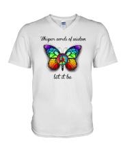 Whisper Words Of Wisdom Let It Be V-Neck T-Shirt thumbnail