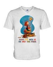 Books May Well V-Neck T-Shirt thumbnail