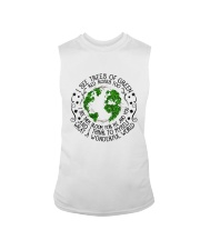 Myself What A Wonderful World Sleeveless Tee thumbnail