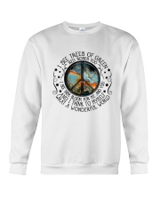 And I Think To Myself 2 Crewneck Sweatshirt thumbnail