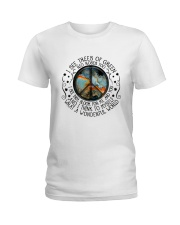 And I Think To Myself 2 Ladies T-Shirt thumbnail