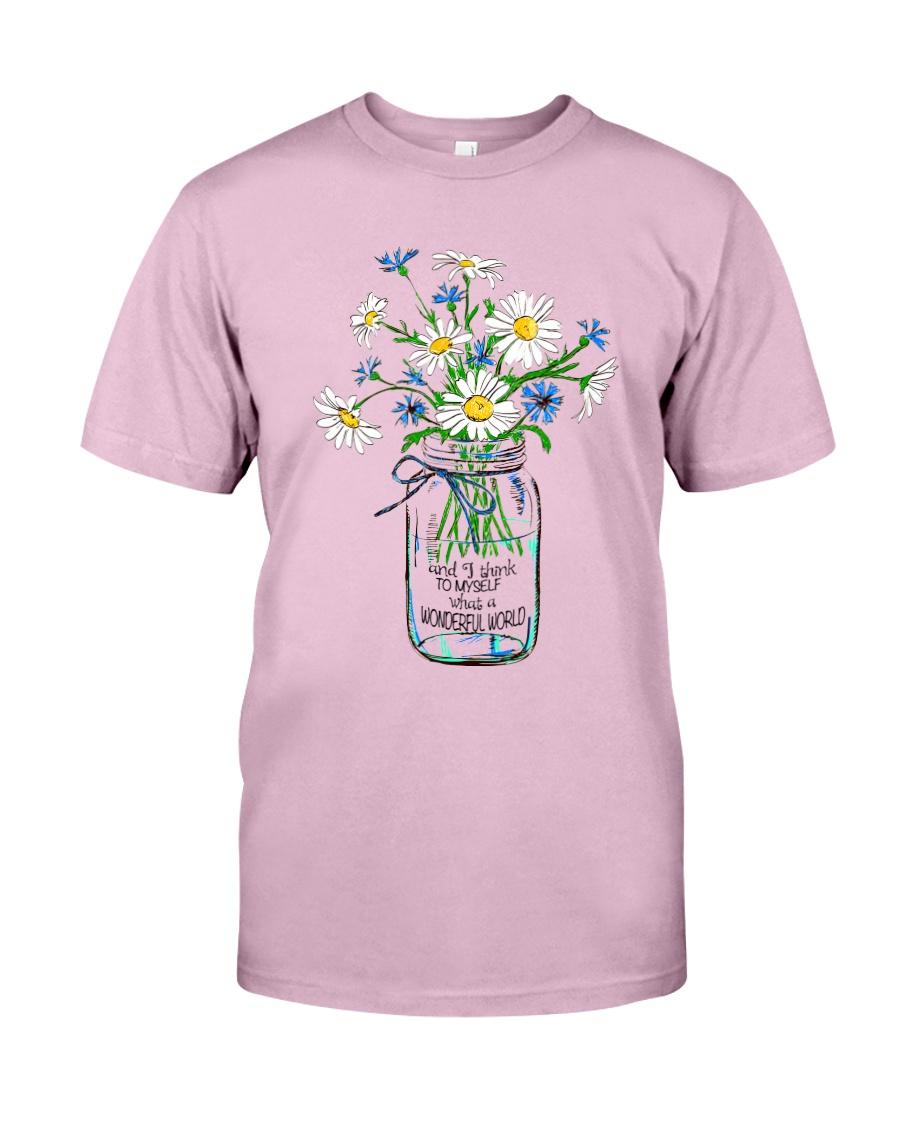 HP-Y-17041911-What A Wonderful World Classic T-Shirt