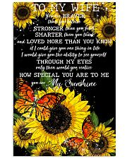 To My Wife 11x17 Poster front