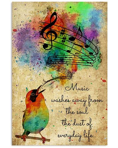 Music Washed Away From The Soul