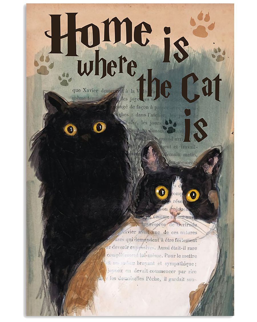 Home is Where The Cat Is 11x17 Poster