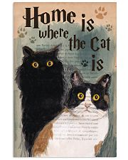 Home is Where The Cat Is 11x17 Poster front