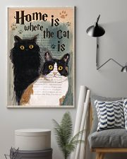 Home is Where The Cat Is 11x17 Poster lifestyle-poster-1