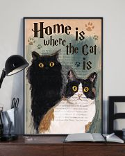 Home is Where The Cat Is 11x17 Poster lifestyle-poster-2