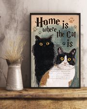 Home is Where The Cat Is 11x17 Poster lifestyle-poster-3