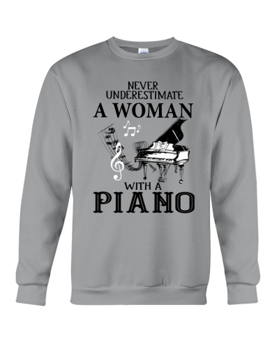 A Woman With Piano