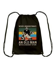 Never Underestimate Drawstring Bag thumbnail