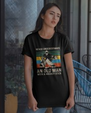 Never Underestimate Classic T-Shirt apparel-classic-tshirt-lifestyle-08