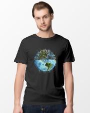 Myself What A Wonderful World Classic T-Shirt lifestyle-mens-crewneck-front-15