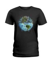 Myself What A Wonderful World Ladies T-Shirt thumbnail