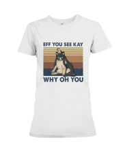 Why Oh You Premium Fit Ladies Tee thumbnail
