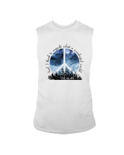Myself What A Wonderful World 1 Sleeveless Tee thumbnail