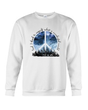 Myself What A Wonderful World 1 Crewneck Sweatshirt tile