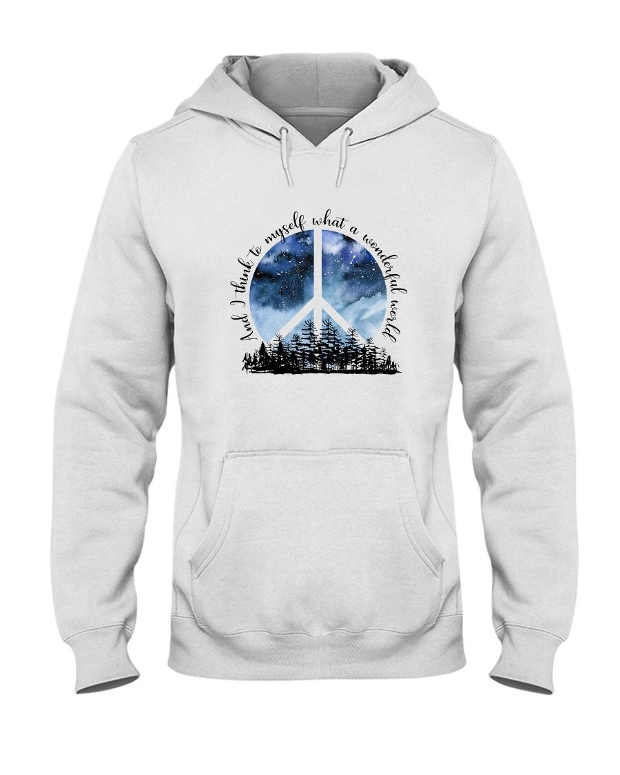 Myself What A Wonderful World 1 Hooded Sweatshirt