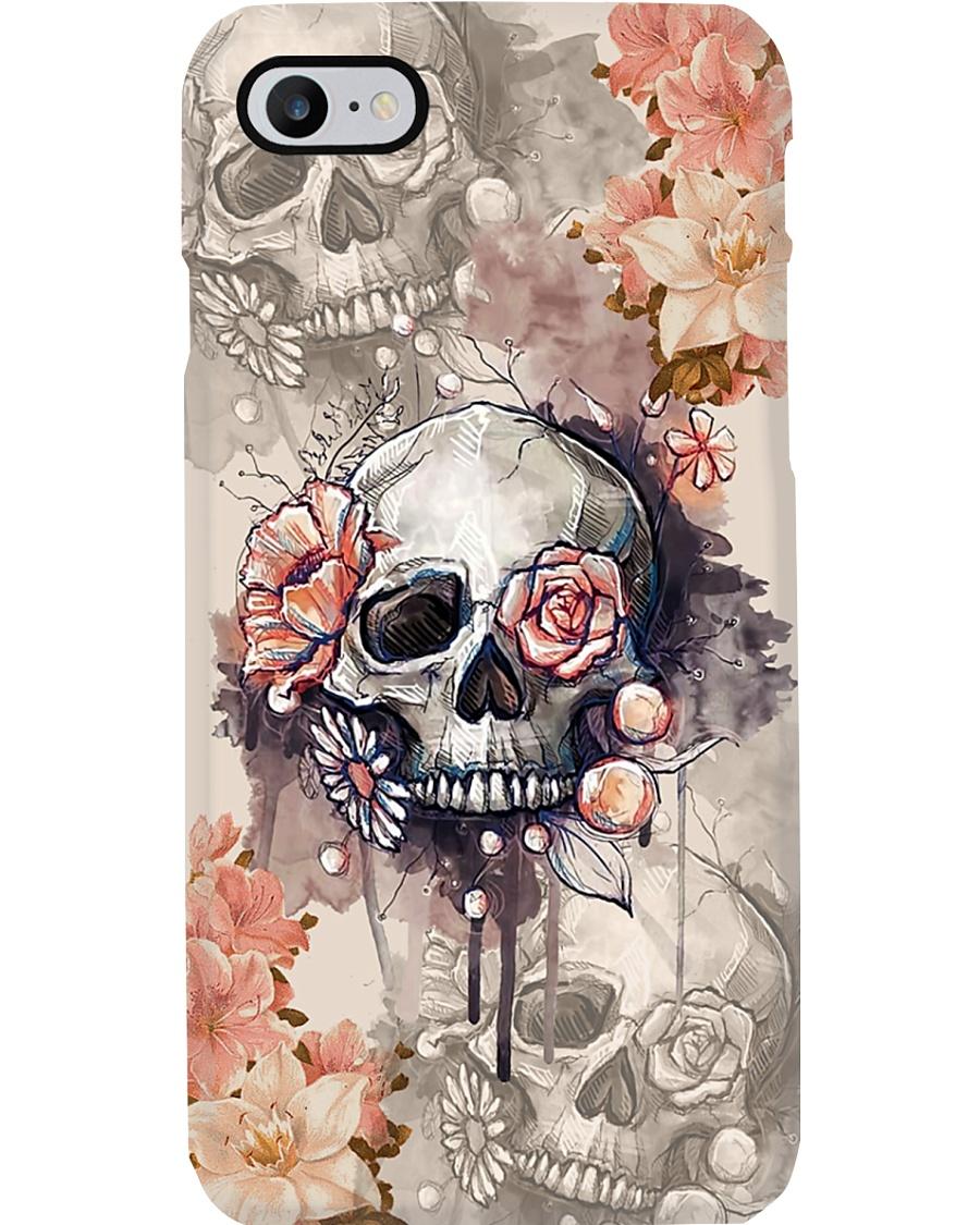 I Love Skull Phone Case