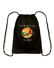 Every Little Thing Is Gonna Be Alright 2 Drawstring Bag thumbnail