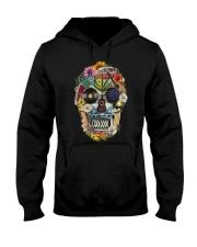 Hippie Flowers A0215 Hooded Sweatshirt front