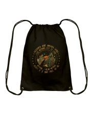 Freedoms Just Another World Drawstring Bag thumbnail