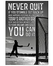 Never Quit You Can Do It 11x17 Poster front