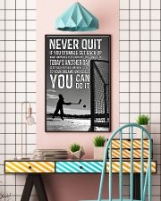 Never Quit You Can Do It 11x17 Poster lifestyle-poster-6