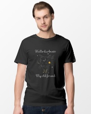 Hello Darkness My Old Friend Classic T-Shirt lifestyle-mens-crewneck-front-15