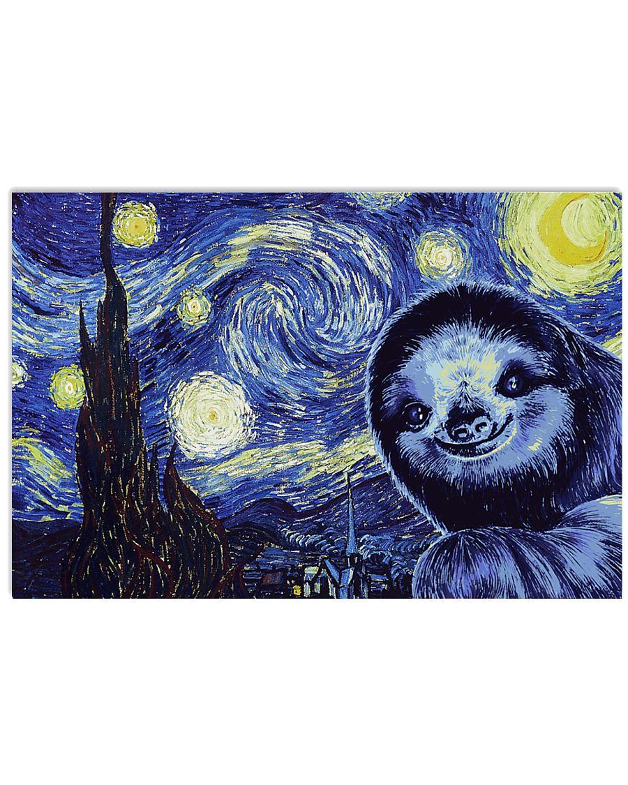 I Love Sloths 17x11 Poster