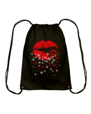Skull Around Drawstring Bag thumbnail