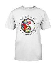 Myself What A Wonderful World 5 Classic T-Shirt thumbnail