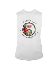 Myself What A Wonderful World 5 Sleeveless Tee thumbnail
