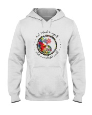 Myself What A Wonderful World 5 Hooded Sweatshirt front