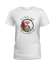 Myself What A Wonderful World 5 Ladies T-Shirt thumbnail