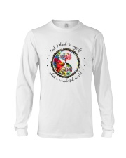 Myself What A Wonderful World 5 Long Sleeve Tee thumbnail