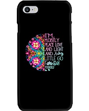 Peace Love And Light Phone Case thumbnail